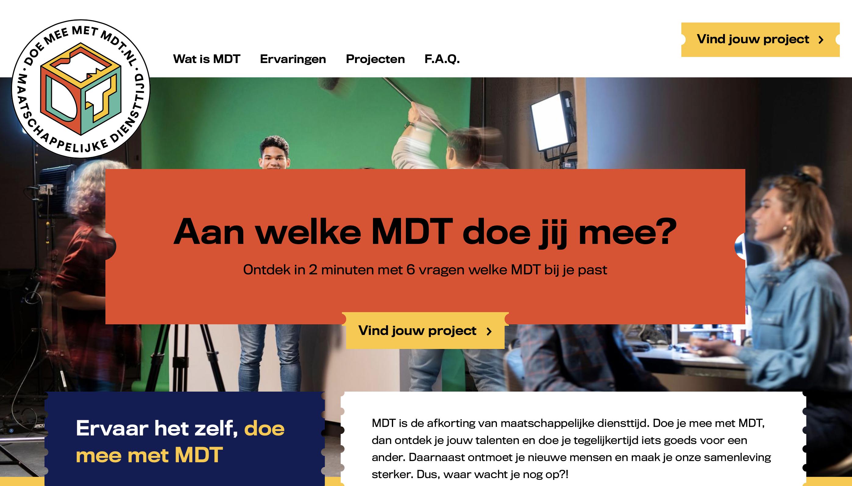 Programma Maatschappelijke Diensttijd (MDT)